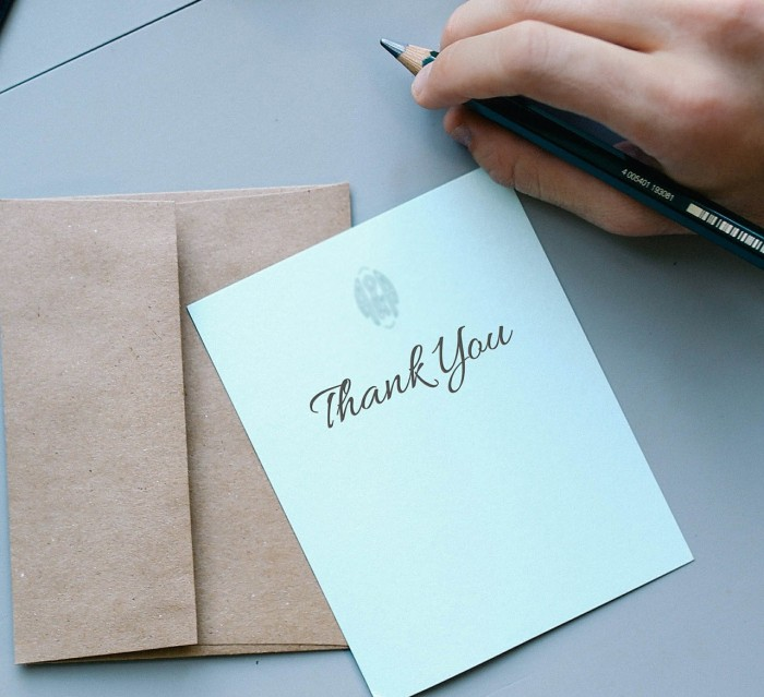 How Not to Write a Crappy Thank You Note